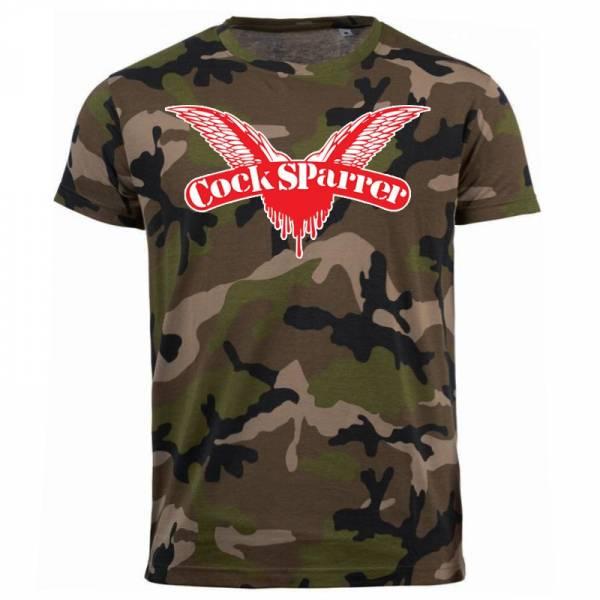 Cock Sparrer - Logo, T-Shirt camo