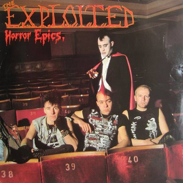 Exploited, the – Horror Epics, LP doublemint PHR Records Pressing