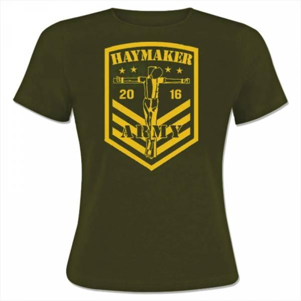 Haymaker - Army, Girly oliv