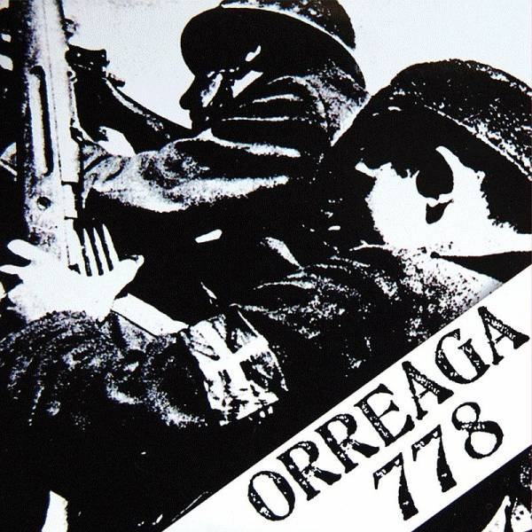 Orreaga 778 - s/t, 7'' lim. 400 schwarz