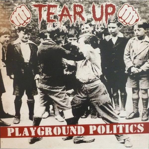 Tear Up - Playground Politics, LP lim. 300 schwarz