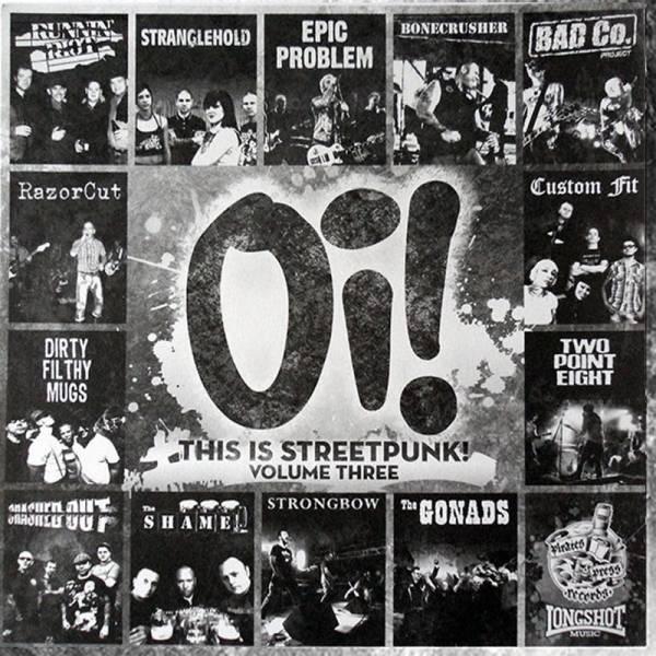 V/A Oi! this is streetpunk - Vol. 3, LP lim. 1313 schwarz + Button