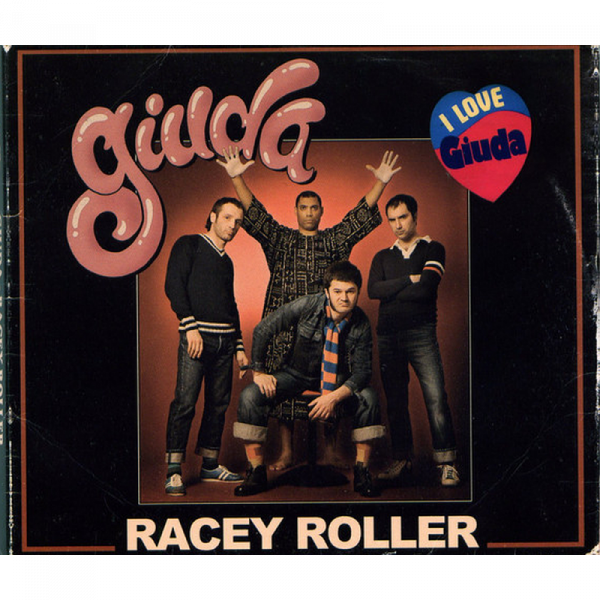 Giuda - Racey Roller, CD Digipack