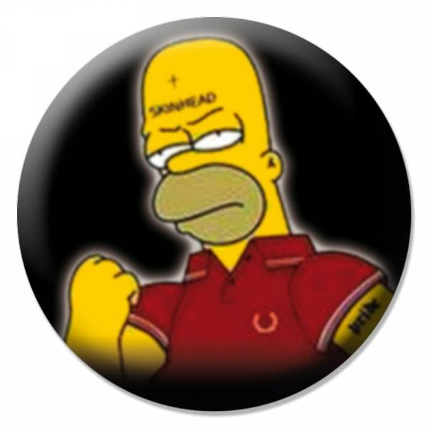 Homer - Skin, Button B060