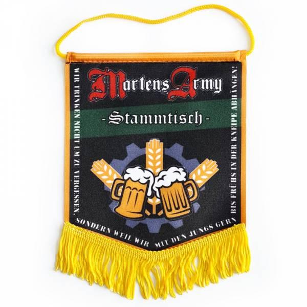 Martens Army - Wir trinken nicht, Stammtisch Wimpel