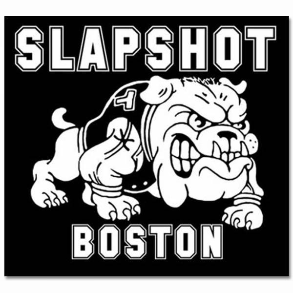 Slapshot - Bulldog, Aufkleber