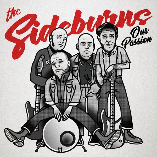 Sideburns, The - Our Passion, 7'' lim. 100 grau