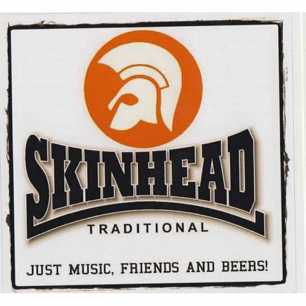 Skinhead - Traditional, Aufkleber