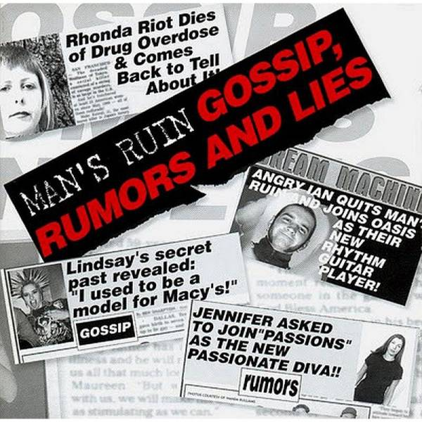 Man's Ruin - Gossip, rumors and lies, CD