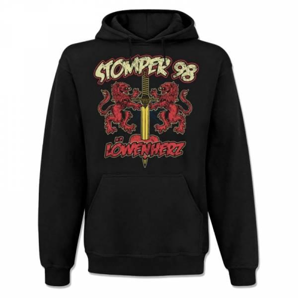 Stomper 98 - Löwenherz, Kapuzenpullover schwarz