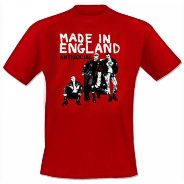 Antisocial - Made in England, T-Shirt rot