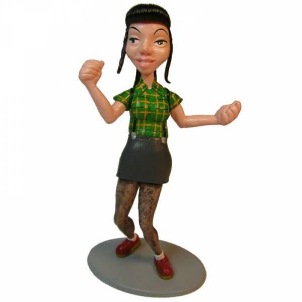 Skinhead Girl - Brunette, Figur