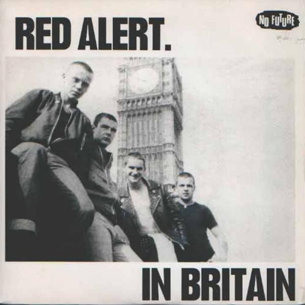 """Red Alert – In Britain, 7"""" bone"""