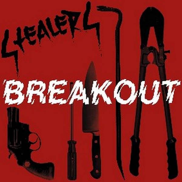 Stealers - Breakout, 7'' lim. 100 rot/weiß swirl