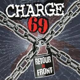 Charge 69 - Retour au front, 7'' lim. 500 schwarz/blau half