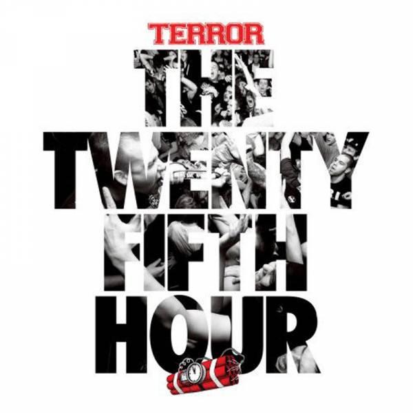 Terror - The twenty fifth hour, LP lim. 300 rot + Downloadcode