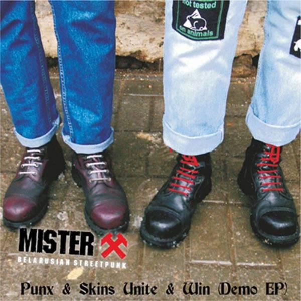 Mister X - Punx & Skins Unite & Win (Demo EP) LP schwarz