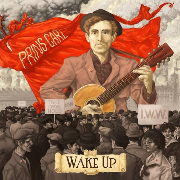 Prins Carl – Wake Up , 7'' EP lim. 250 blut rot