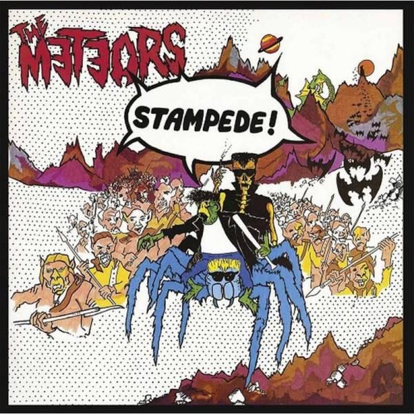 Meteors, The - Stampede, LP rot