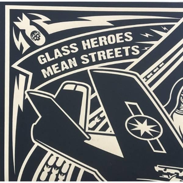 Glass Heroes / Mean Streets - Split, 7'' lim. 500 schwarz