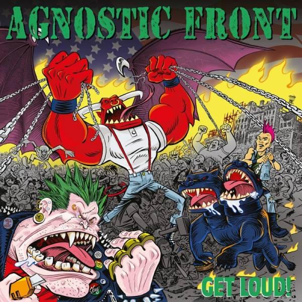 Agnostic Front - Get Loud!, LP lim. verschiedene Farben