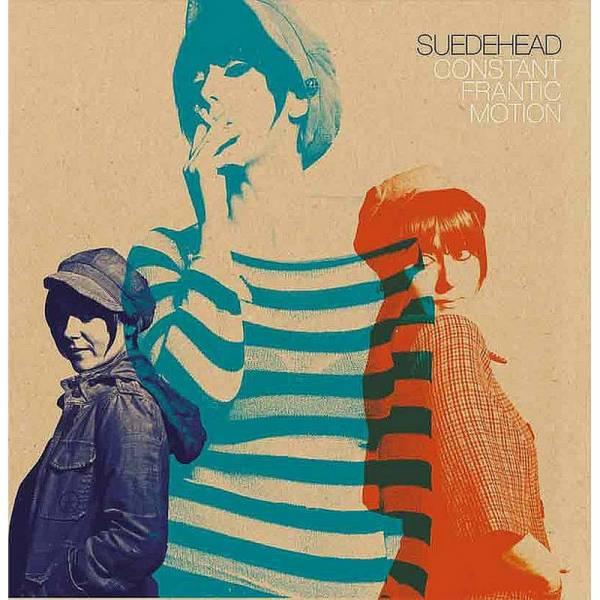 Suedehead - Constant Frantic Motion, LP lim. 500 tri-color