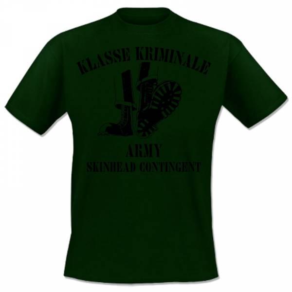 Klasse Kriminale - Army, T-shirt grün