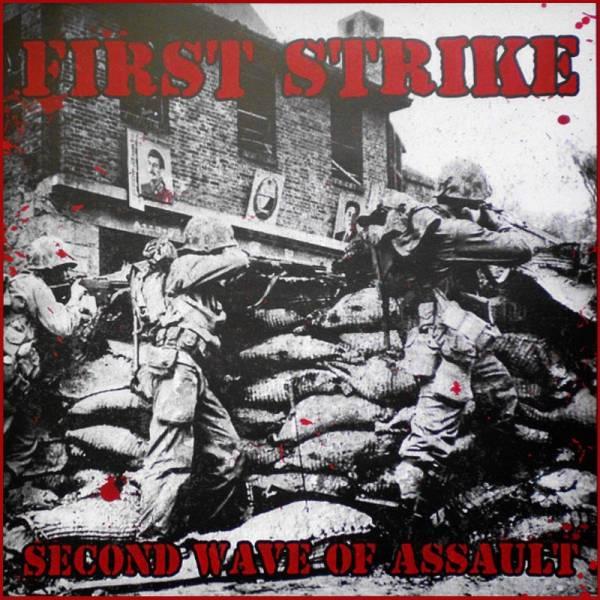 First Strike - Second wave of assault, LP lim. 500, verschiedene Farben