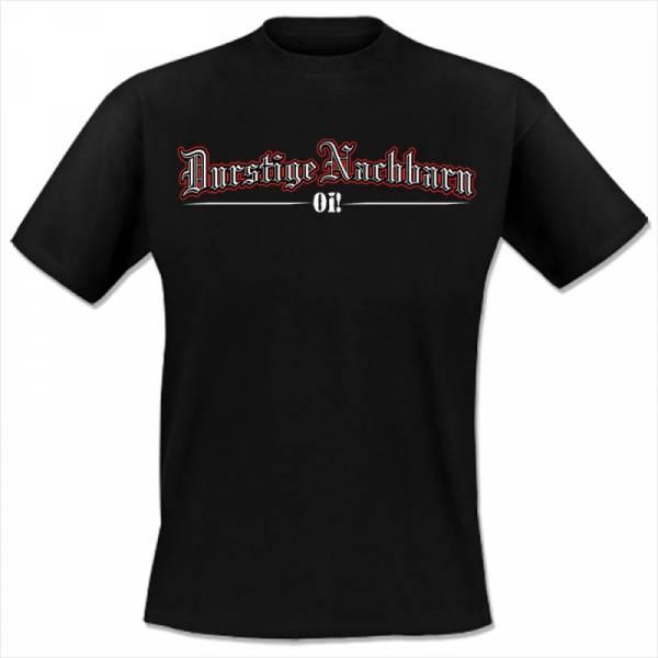 Durstige Nachbarn - Für immer Skinhead, T-Shirt schwarz