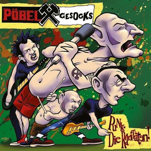 Pöbel & Gesocks - Punk (Die Raritäten), LP lim. verschiedene Farben