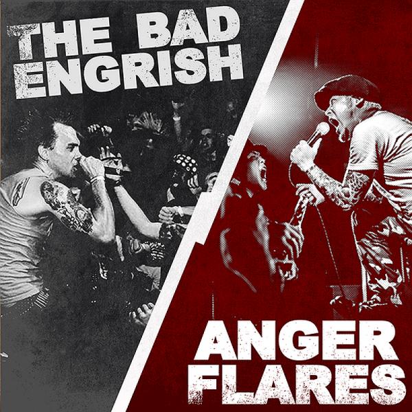 Bad Engrish, The / Anger Flares - s/t. , 7'' lim. verschiedene Farben