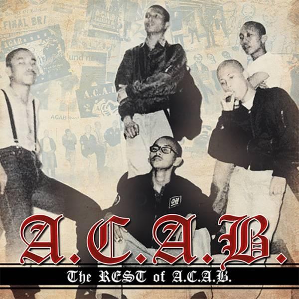 A.C.A.B. - The REST of A.C.A.B., CD, lim. 500