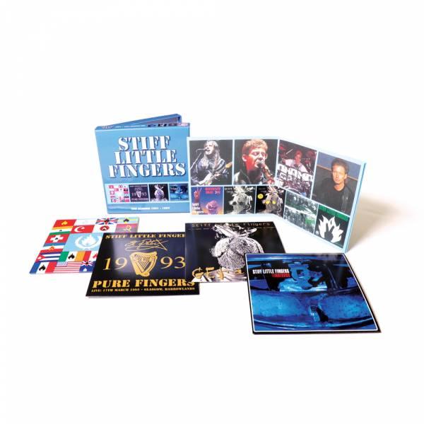 Stiff Little Fingers - The Albums 1991 - 1997, 4 x CD BOX