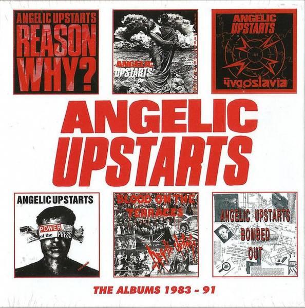 Angelic Upstarts - The Albums 1983 - 91, 6 x CD BOX