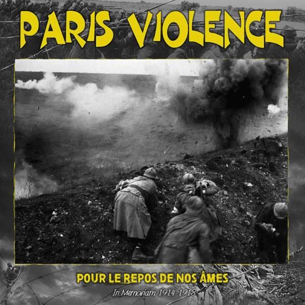 Paris Violence - Pour le repos de nos ames, LP Franz. Version lim. 100