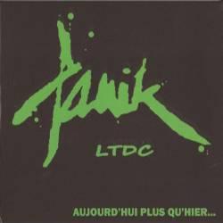 Panik LTDC - Aujourd'hui Plus Qu'hier... , LP lim. 500 grün