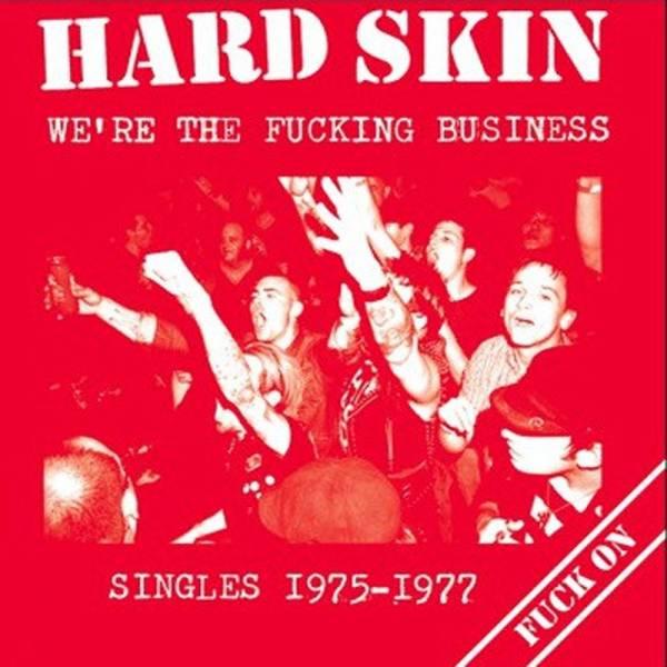 Hard Skin - We're the fucking business (Singles 1975-1977), LP schwarz