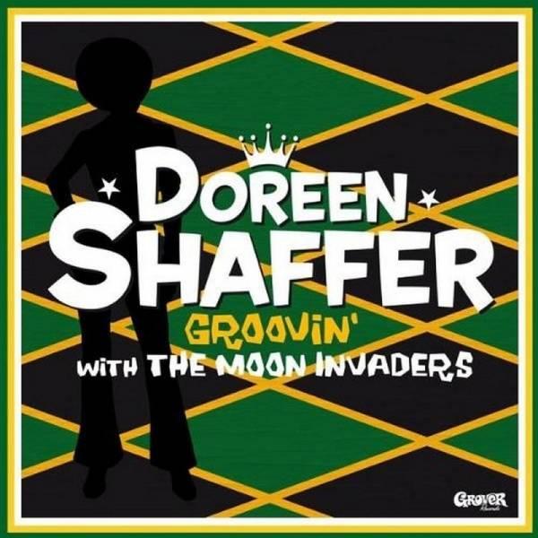 Doreen Shaffer - Groovin' with the moon invaders, LP schwarz