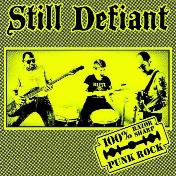 Still Defiant - s/t, CD lim. 500 Super Jewel Case