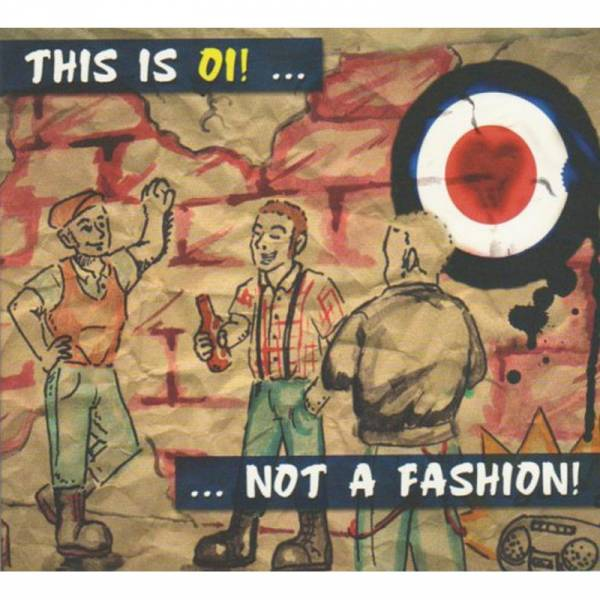 V/A This is Oi! ... not a fashion, CD Digipack