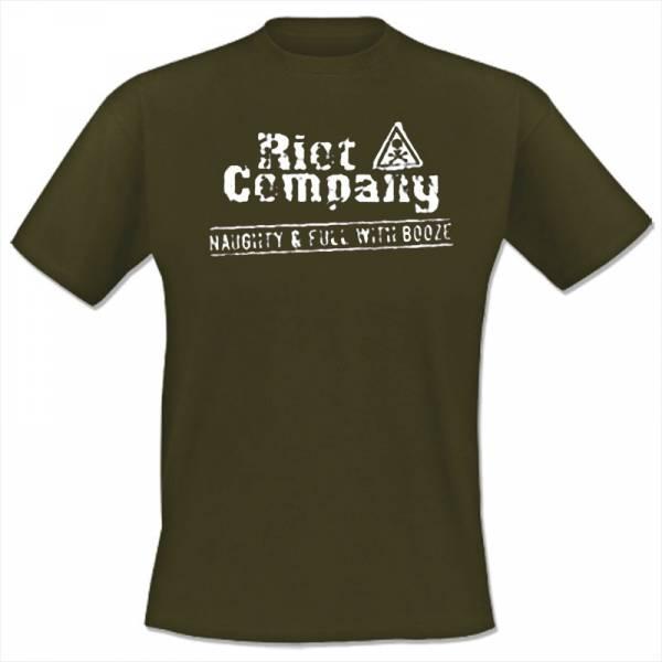 Riot Company - Naughty & full with booze, T-Shirt verschiedene Farben