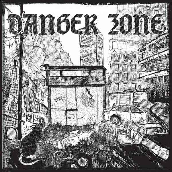 "Danger Zone ‎– Danger Stomp, 7"" lim. 140 Cover CITY"