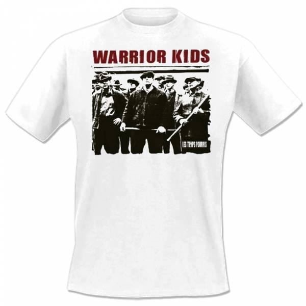 Warrior Kids - Les Temps Pourris, T-Shirt weiß