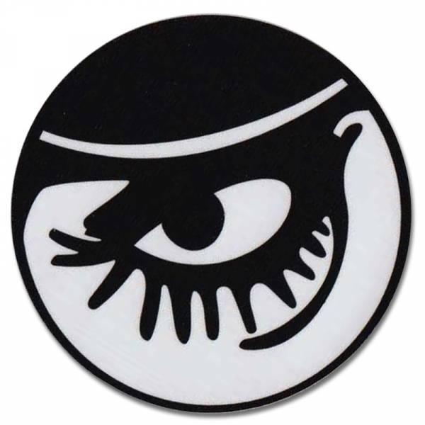 Clockwork Orange - Auge, Aufkleber rund