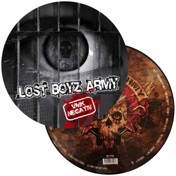 Lost Boyz Army - VMK negativ, LP Picture lim. 500