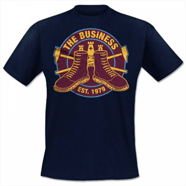 Business, The - Westham, T-shirt Navy