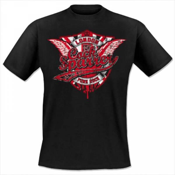 Cock Sparrer - Since 1972, T-Shirt schwarz