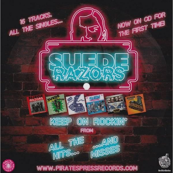 Suede Razors - Keep on Rockin', 7'' Flexi