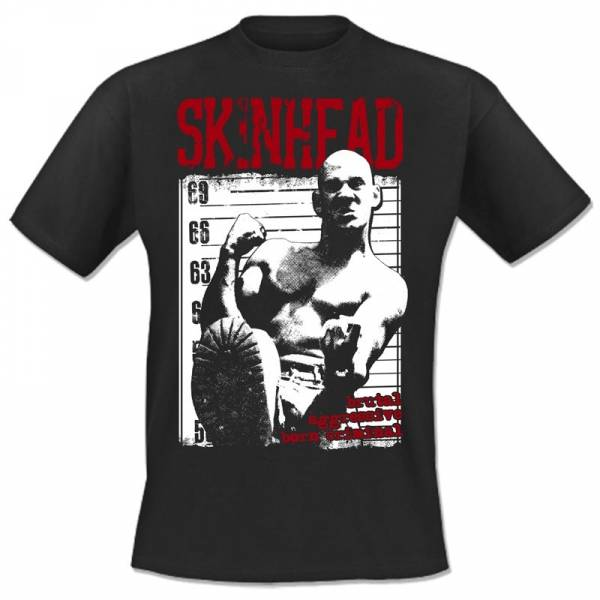 Skinhead - Born criminal, T-Shirt verschiedene Farben