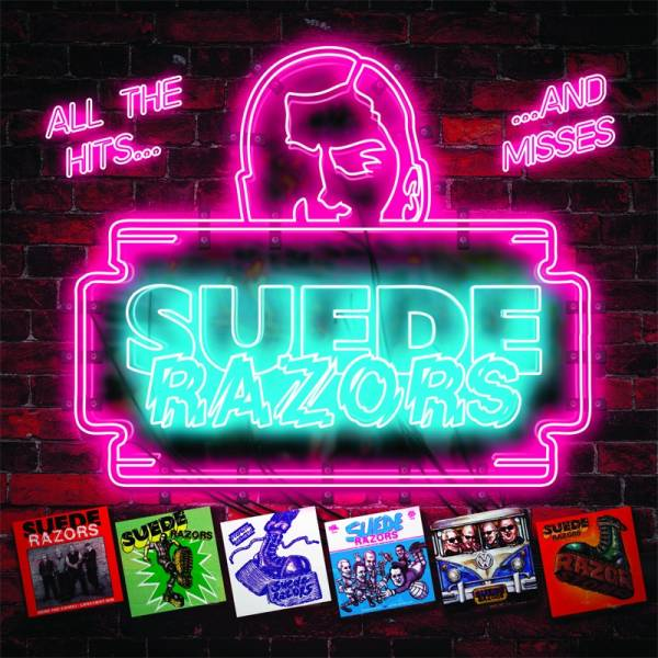 Suede Razors ‎– All the hits... and misses!, CD Digipack